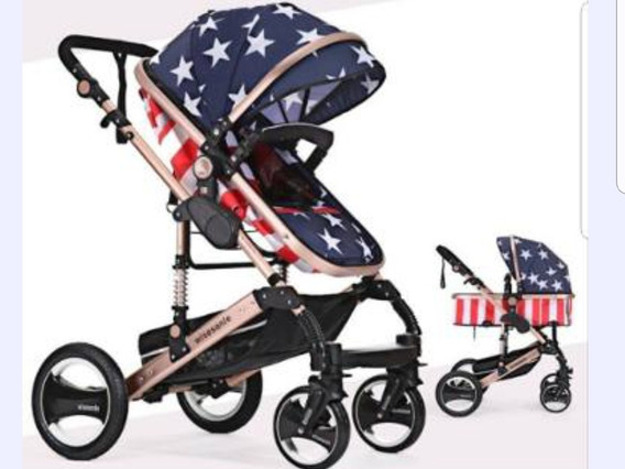 Baby Car Stroller Importado Berço Moisés Passeio Luxo Resist