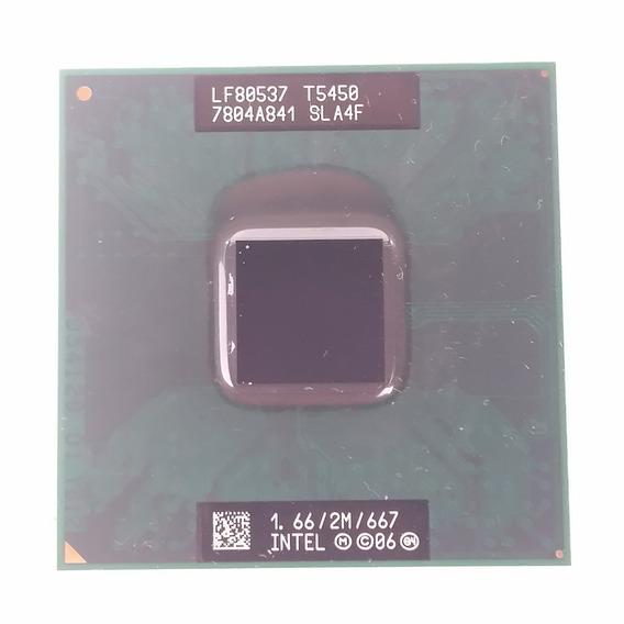 Processador Intel Core 2 Duo T5450 1.66ghz 667mhz Pn: Sla4f