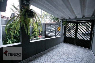 Casa Sobrado 250 M2 - 3 Dormitórios - 1 Suíte - Santa Maria - São Caetano Do Sul. - So0047