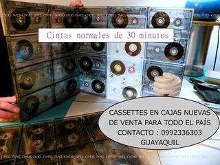Cassettes Nuevos De 30 Minutos