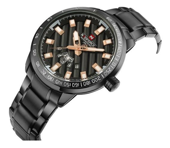 Relógio Masculino Luxuoso Aço Inoxidável Resistente A Água