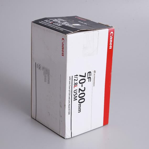 Caixa Da Lente Canon 70-200 F2.8 Eos