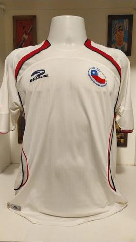 Camisa Futebol Seleção Chile Branca 2007