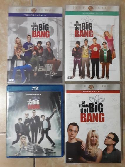 The Big Bang Theory Temporadas 1 2 3 4 Dvd