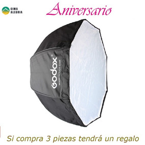Godox Porttil Octagon Softbox 80 Centmetros / 31.5in Umbrell