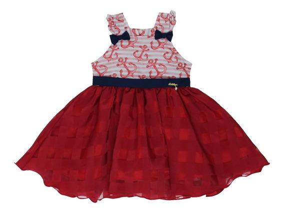 Vestido De Bebê Menina Para Festa Katitus