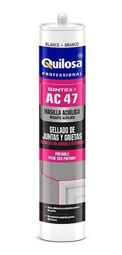 Silicona Sellador Acrilico Sintex Ac47 Junta/grieta Quilosa