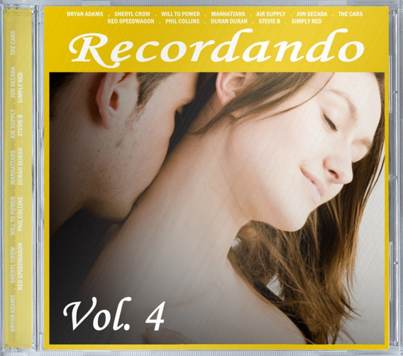 Recordando Vol. 4 - Cd Lacrado Rsa Music