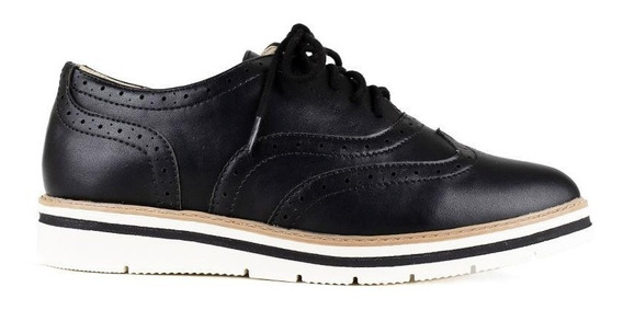 Zapatos Oxford Negros - Soda