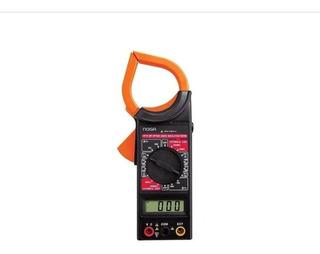 Pinza Amperometrica Dt266 Tension Ac Dc Multimetro Digital