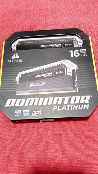 Memoria Corsair Dominator Ddr4 16gb 2x8 3200mhz