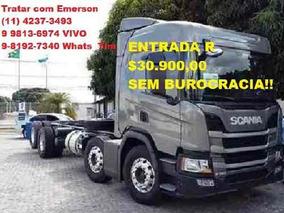 Scania P310 P/320 Bitruck Carroceria Ou Baú Refrigerado