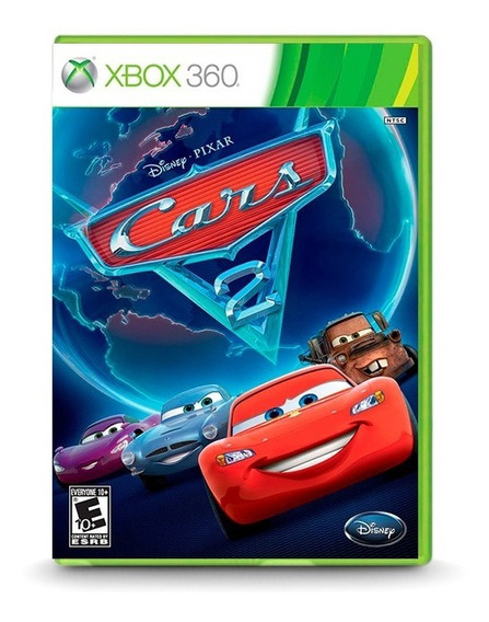 Cars Carros 2 Video Game - Original P/ Xbox 360 - Novo