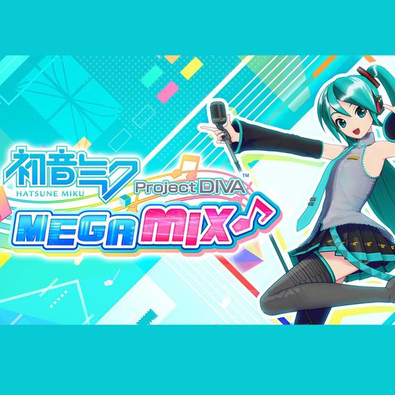 Hatsune Miku Project Diva Jogo Digital Nintendo Switch Alug.