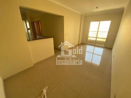 Imagem 1 de 6 de Apartamento Com 2 Dormitórios À Venda, 70 M² Por R$ 340.000 - Jardim Macedo - Ribeirão Preto/sp - Ap3912