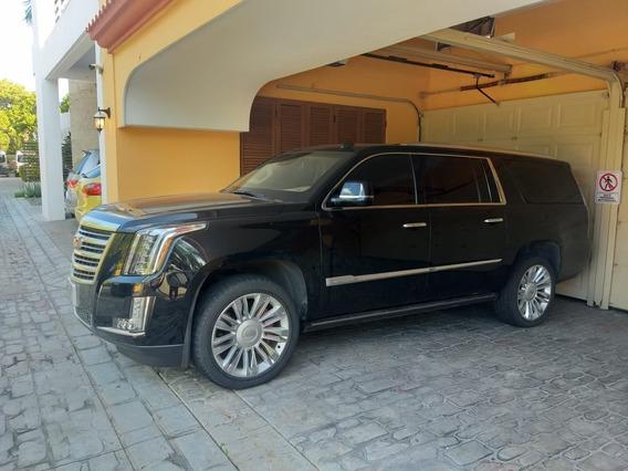 Blindada 2016 Cadillac Escalade Esv Nivel 4 Plus Blindado