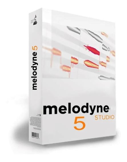 Melodyne 5 Licença Definitiva (lançamento) Vst3, Aax Win X64