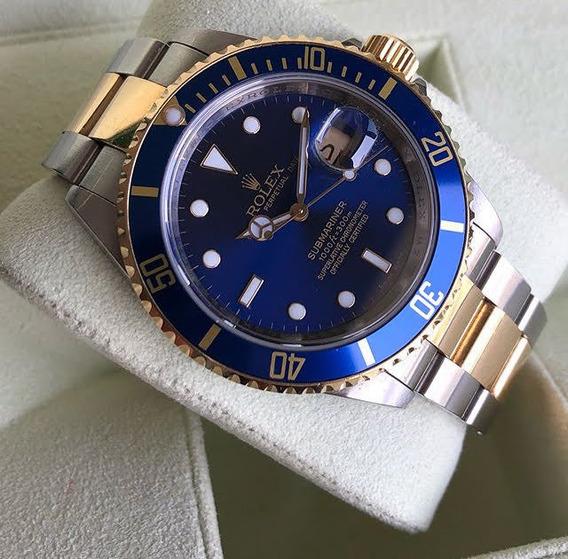 Relógio Rolex Submariner Unisex + Caixa Original