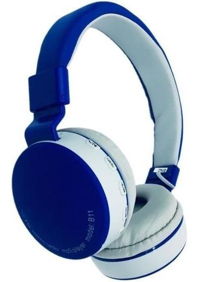 Fone Ouvido Bluetooth Universal B11 Microsd Promoção - 065
