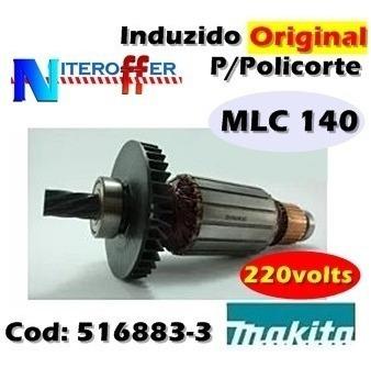 Induzido Original P/policorte Mlc 140 220v Makita
