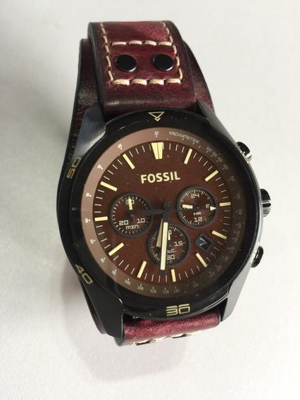 Relógio Fossil Ch2990 Original Masculino Couro