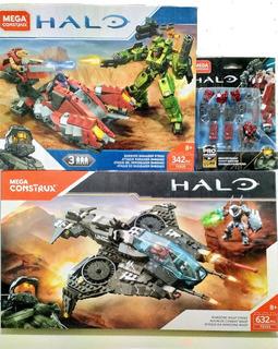 Halo® Mega Construx: Wasp + Banished Marauder + Exoesqueleto