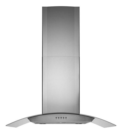 Exaustor de Cozinha Cadence Gourmet CFA390 aço inoxidável, vidro de parede 900mm x 110mm x 500mm prateado 127V