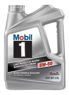 Aceite Lubricante Sintetico Mobil 1 5w50 X 3.78 L Check Oil