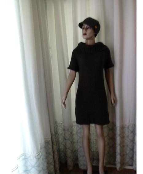 Vestido Tipo Blusão Tamanho M +boina -ler Descrição Abaixo