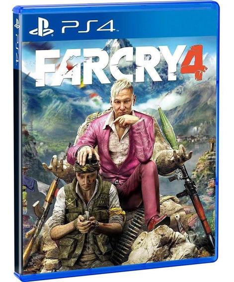 Game Far Cry 4 Ps4 Português Mídia Física Lacrado Blu-ray