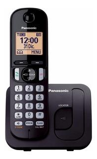 Telefone sem fio Panasonic KX-TGC210 preto