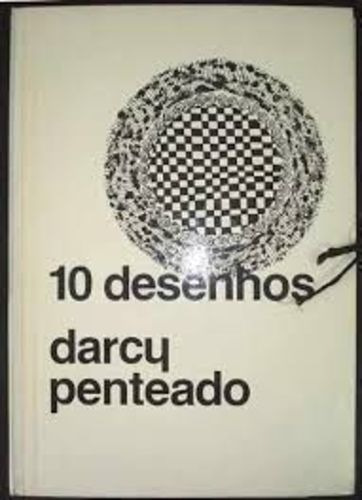 Livro 10 Desenhos - Portfólio Com 6 Desenhos Darcy Penteado