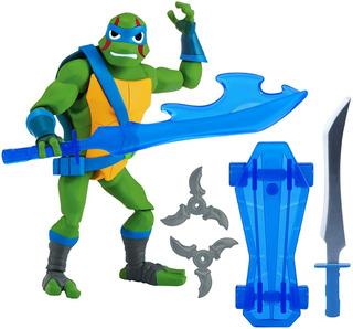 Figura Articulada Leonardo Tortugas Ninja Rise Nuev Original
