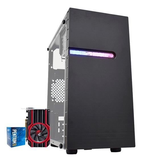 Pc Gamer G5400 Gold 8gb Ddr4 Gt 1030 2gb Ddr4 Hd 1tb