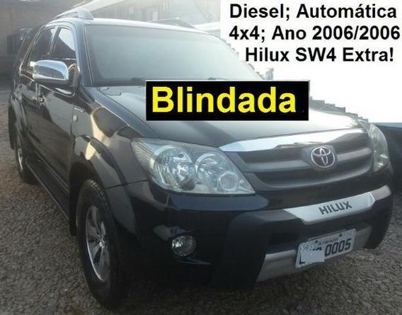 Hilux Sw4 Blindada Diesel; Aut; 4x4