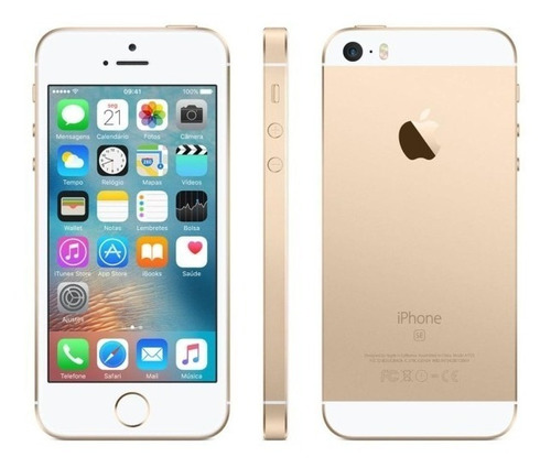 Imagem 1 de 3 de Apple - iPhone SE - 16gb - Ouro - Seminovo