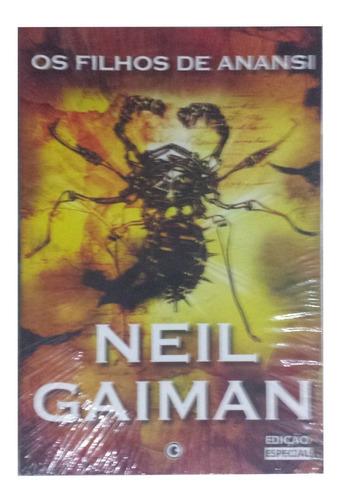 Livro Os Filhos De Anansi - Neil Gaiman - Lacrado
