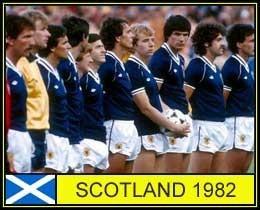 Camisa Seleção Escócia 1982, Nº 3, Raridade!