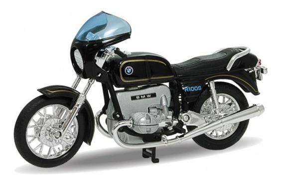 Moto Clasica Bmw R 100 S Coleccion Esc1:18 Metal