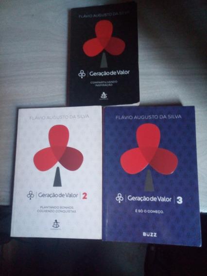 Livro Geração De Valor - Vol 1, 2 E 3