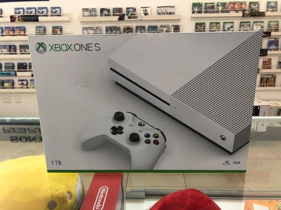 Microsoft Xbox One S 1tb Standard Branco