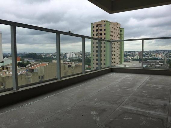 Apartamento Residencial À Venda, 182 M², 4 Dorm, Terraço Gourmet, 4 Vagas, Campestre, Santo André. - Ap0035