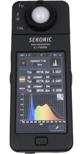 Sekonic C-7000 Spectromaster Meter Kit Color