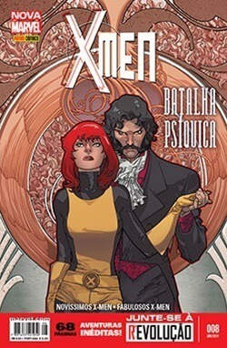 X-men Nova Marvel 8 Panini Lacrada