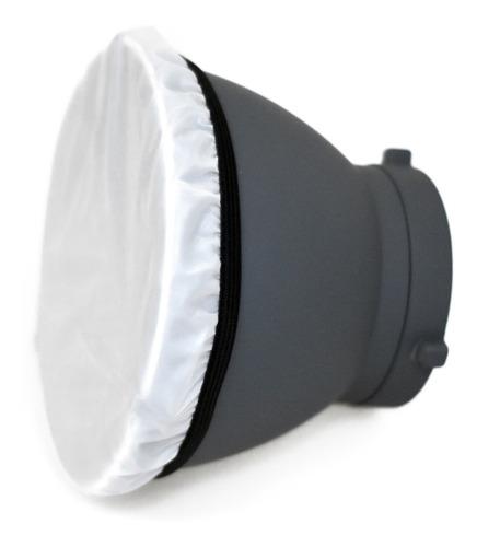 Imagen 1 de 10 de Reflector Cacerola Difusor Y Panal Flash P/ Visico Bowens