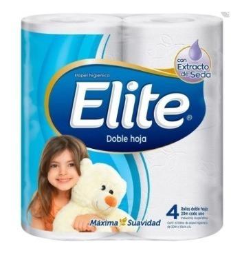 Papel Higiénico Elite Dh Extrac Seda 40 Rollos 20mx10cm C/u