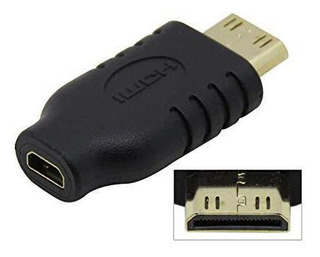 Socket De Cy Micro Hdmi Tipo D Hembra A Mini Adaptador Y-obm