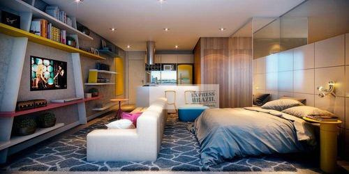 1 Dormitório - Campo Belo- Lazer De Club - Ap4914