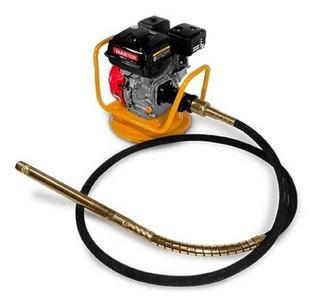 Vibrador Concreto Gasolina 5,5hp Con Cabeza/guaya 12.000vpm
