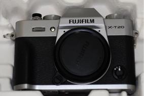 Câmera Fujifilm X-t20 Xt20 Silver Exc+++